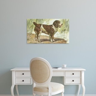 Easy Art Prints Unknown's 'Man's Best Friend IV' Premium Canvas Art