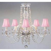 Swarovski Elements Crystal Trimmed Chandelier! New! Authentic All Crystal Chandelier Lighting Chande