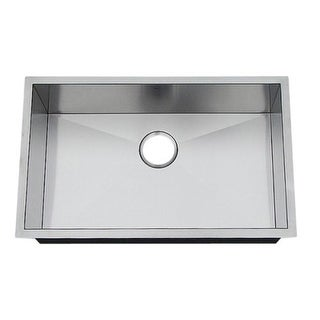 """Artisan CPUZ2919-D10 29"""" Single Basin Undermount Stainless Steel Kitchen Sink with V-Therm Shield Technology from the Chef Pro"""
