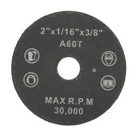Weiler 2X1/16 Abrasive Wheel