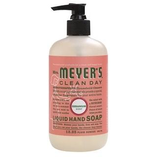 Mrs Meyers Clean Day 13104 Geranium Scent Liquid Hand Soap
