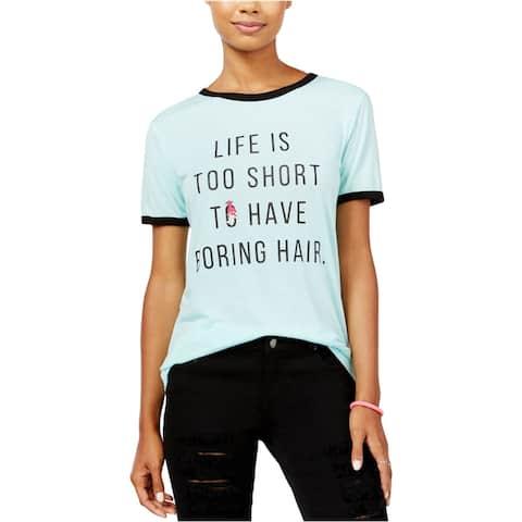 Dreamworks Womens Trolls Ringer Graphic T-Shirt