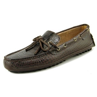 Cole Haan Grant Canoe.Camp.Moc Men  Round Toe Leather Brown Loafer