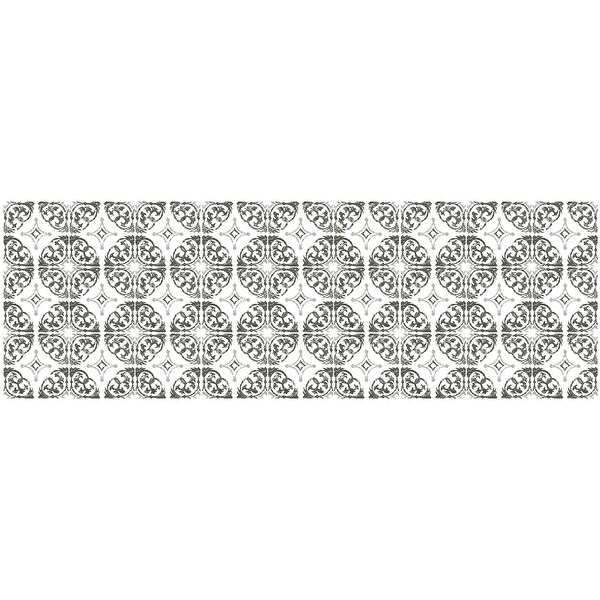 Brewster DWPK278 27 Piece Marrakech Tile Wall Decorating Kit
