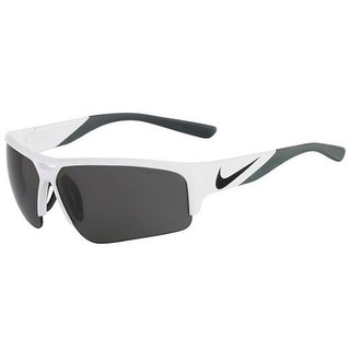Nike EV0872-100 Sunglasses Golf X2 Pro White Black Frame Gray Lens