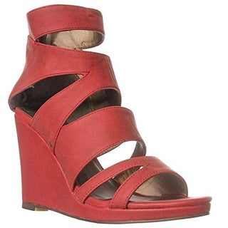 Michael Antonio Allura Wedge Sandals - Red