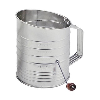 Norpro 137 Crank Tin Sifter, 5-Cup