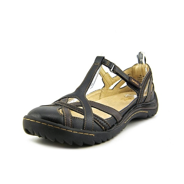 Jambu Charley Women Black Earth Flats