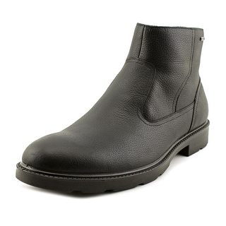 Geox Rubbiano B ABX 3 Men  Round Toe Leather Black Boot