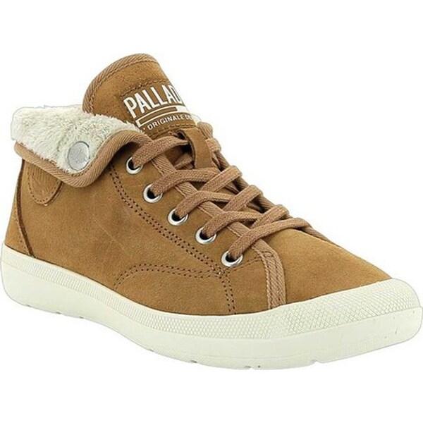 9dd06023fae Shop Palladium Women's Aventure Warm SUE Sneaker Brown Sugar/Beige ...