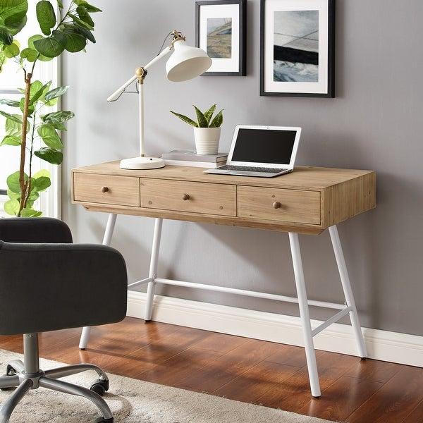 Trail 3-drawer Desk. Opens flyout.