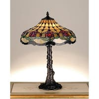 Meyda Tiffany 82319 1 Light Table Lamp With Tiffany Accent Shade - n/a