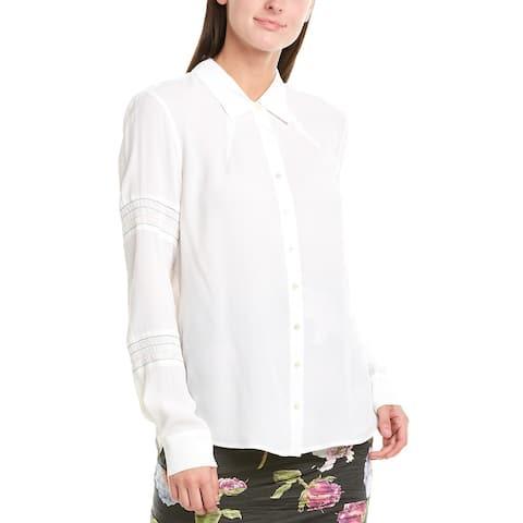 Nicolle Miller Artelier Silk-Blend Blouse