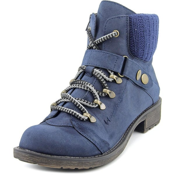 American Rag Harvey Women Round Toe Synthetic Blue Ankle Boot