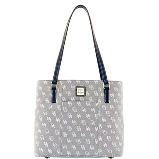 Dooney & Bourke Madison Signature Small Lexington (Introduced by Dooney & Bourke at $228 in Jan 2016) - Blue