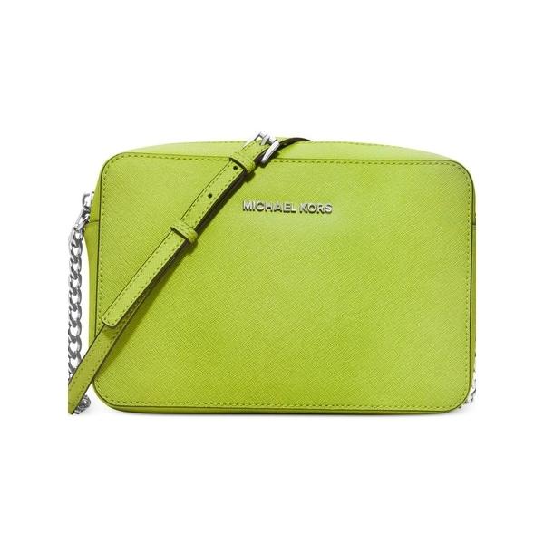 f6bed2f353af ... where to buy shop michael michael kors womens jet set travel crossbody  handbag leather shoulder small