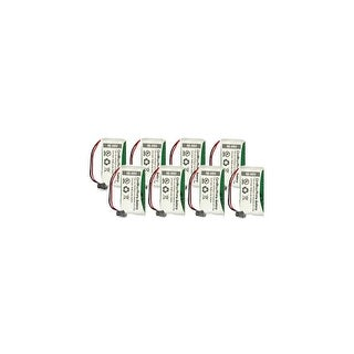 Replacement Battery For Uniden D1788-2 / D1788-3 Cordless Phones - BT1008 (700mAh, 2.4V, Ni-MH) - 8 Pack