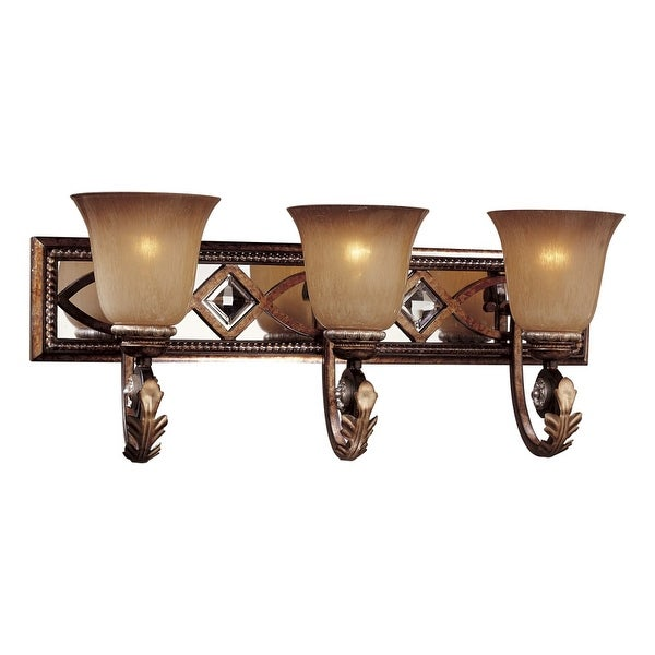 Minka Lavery ML 6743 3 Light Bathroom Vanity Light from the Aston Court Collection - aston court bronze