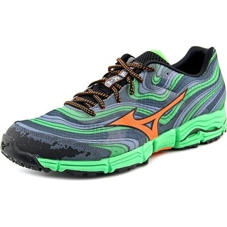 Mizuno Wave Kazan Round Toe Synthetic Running Shoe
