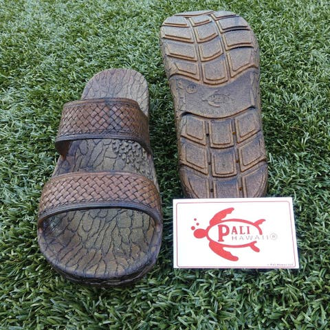 Pali Hawaii JANE BROWN Sandals with Certificate of Authenticity