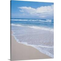 Premium Thick-Wrap Canvas entitled Waimea Bay, Oahu, Hawaiian Islands
