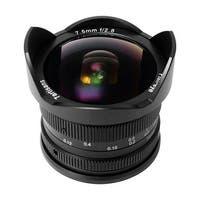 7artisans 7.5mm f/2.8 APS-C Fisheye Fixed Lens (Black) for Sony E-Mount Cameras - Black