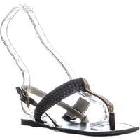 Tommy Hilfiger Lorida Ankle Strap Sandals, Black - 5.5 us