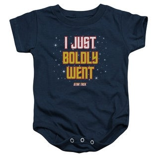 Star Trek Boldly Went Unisex Baby Snapsuit