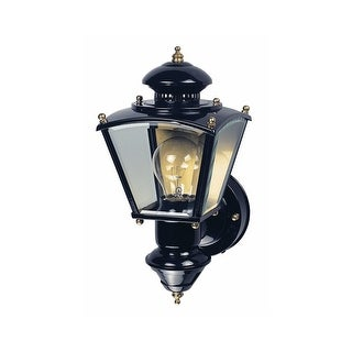 Heath Zenith HZ-4150 Charleston Coach 1-Light 150 Degree Motion Activated Outdoor Wall Sconce - N/A
