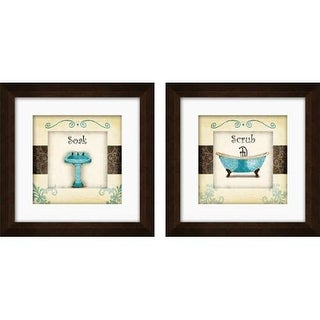 PTM Images 1-17005 Whimsical Bathroom Wall Art (Set of 2)