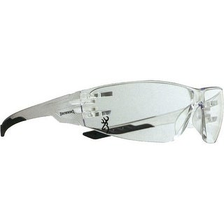 Browning 12761 bg shooters flex shooting glasses clear/black