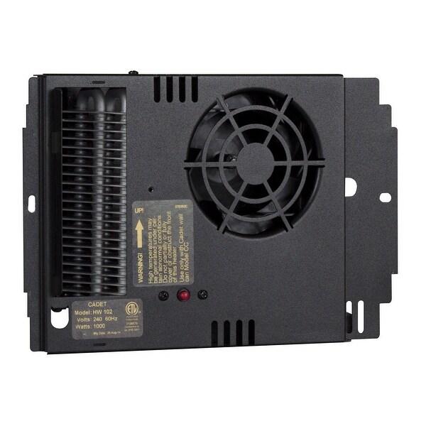Cadet HW052 Apex72 1706 BTU 240 Volt Electric Wall Heater Assembly - Black