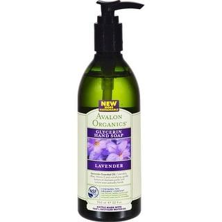 Avalon Organics - Glycerin Liquid Hand Soap - Lavender ( 3 - 12 FZ)