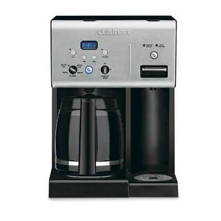 Conair CHW-12 Cuisinart CHW-12 Coffee Plus 12-Cup Programmable Coffeemaker with Hot Water System Black-Stainless|https://ak1.ostkcdn.com/images/products/is/images/direct/050baebac4a94c412b582b9034691925ad550972/Conair-CHW-12-Cuisinart-CHW-12-Coffee-Plus-12-Cup-Programmable-Coffeemaker-with-Hot-Water-System-Black-Stainless.jpg?impolicy=medium