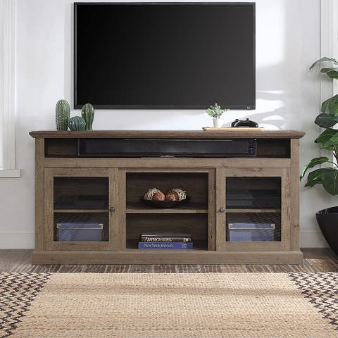 "BELLEZE 60"" Entertainment Center TV Stand Console Storage Shelves - standard"