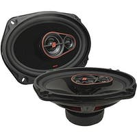 6 x 9 in. Mobile Hed Series 3-Way Coaxial Speakers, 420 Watt Max