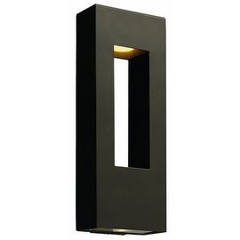 "Hinkley Lighting H1649 24"" Height 2 Light ADA Compliant Dark Sky Outdoor Wall Sconce from the Atlantis Collection"