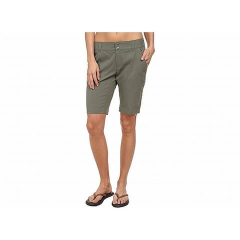 Columbia Olive Womens Bermuda Walking Stretch Shorts