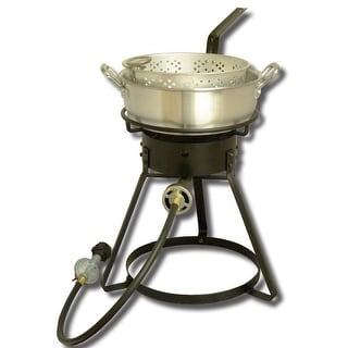 "King Kooker #1642-16"" Bolt Together Cooker with Aluminum Pan 1642"