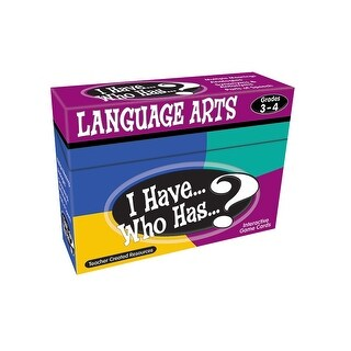 I Have Who Has Language Arts Games