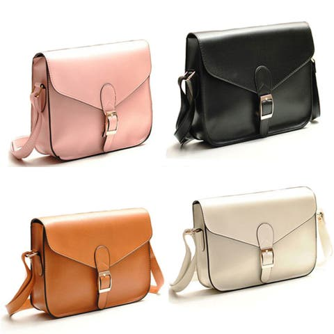 Classy Shoulder or Crossbody Handbag in 10 Colors