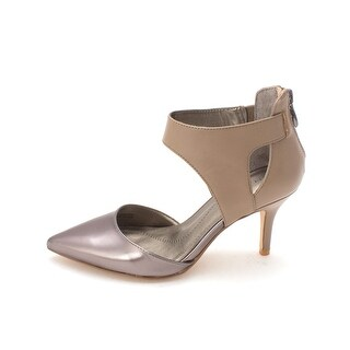 Tahari Womens CORRY Pointed Toe Ankle Strap D-orsay Pumps