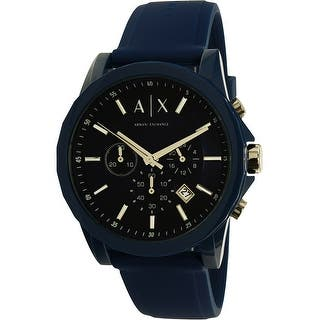 Armani Exchange Men's Outerbanks AX1327 Blue Rubber Quartz Dress Watch|https://ak1.ostkcdn.com/images/products/is/images/direct/051139a3293558bbe6993161bd4d67b77c1ca82c/Armani-Exchange-Men%27s-Outerbanks-AX1327-Blue-Rubber-Quartz-Dress-Watch.jpg?impolicy=medium
