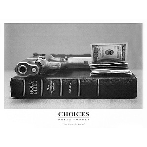 ''Choices'' by Brian Forbes African American Art Print (18 x 24 in.)