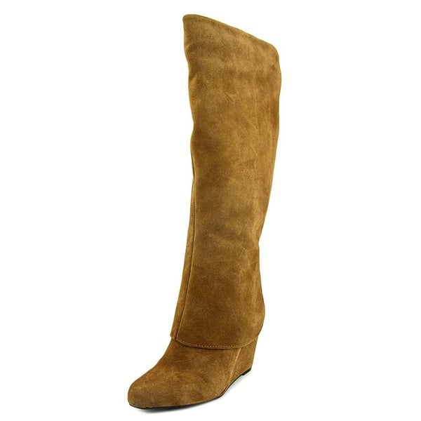 Jessica Simpson Womens Rallie Suede Closed Toe Knee High Fashion Boots