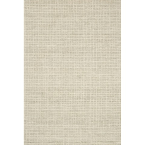 Alexander Home Mosaic Farmhouse Hand-Hooked 100% Wool Rug
