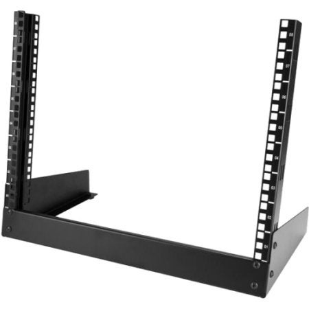 Startech Rk8od 8U Desktop Rack 19 In. 2-Post Open Frame Rack Open Frame Rack