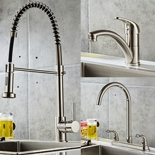 Link to Kitchen Fixed Faucet Stainless Steel Kitchen Sink Faucet 3 Styles Similar Items in Faucets