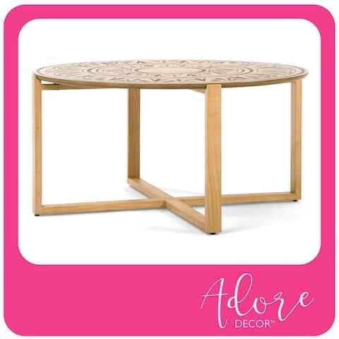 Adore Decor Dahlia Coffee or Side Table