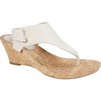 b56b86691152 Shop White Mountain Women s All Glad Wedge Thong Sandal Rosewood ...